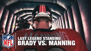 Who Will Be The Last Legend Standing: Brady or Manning? | Patriots vs. Broncos | NFL