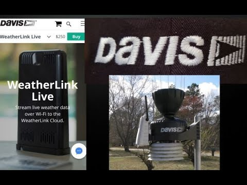 Davis WeatherLink Live How To And Review By KVUSMC