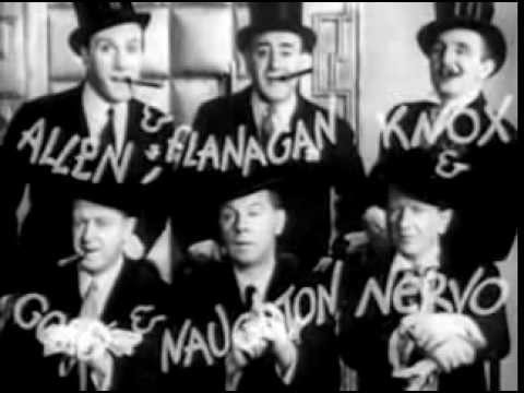 The Crazy Gang, in O-kay For Sound (1937) FULL FILM.