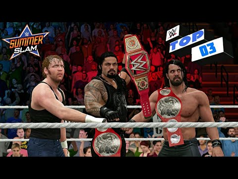 Thumbnail: WWE 2K17 - 3 Things that can happen at WWE Summerslam 2017!!!