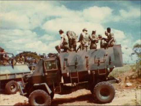 """""""George""""  Tribute to the Rhodesian Armoured Car Regiment"""