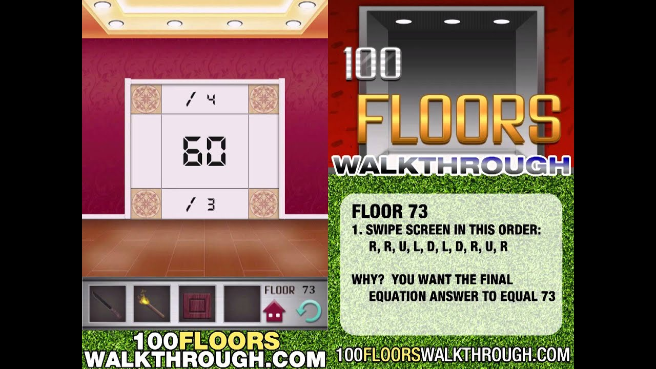 100 floors walk through carpet review for 100 floors 17th floor answer