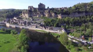Drone DJI Phantom 3 : La Dordogne vue du ciel