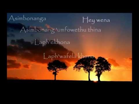 Johnny Clegg & Savuka - Asimbonanga (+paroles/lyrics)