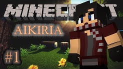 Aikiria Episode 1-The boy who fell from the skies- (Original Minecraft Roleplay)