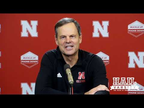 Nebraska Volleyball: John Cook on Being Bored, 'Huskers Code Red' and More