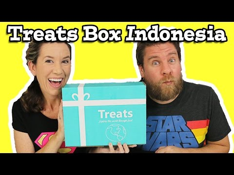 Treats Box Unboxing Snacks And Candy Indonesia