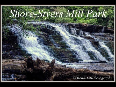 Shore Styers Mill Park, Shacktown NC, Yadkin County