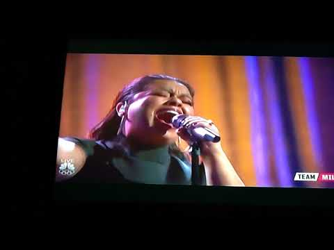 Brooke Simpson-Performance- Faithfully- The voice, December 11, 2017