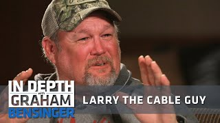 Larry the Cable Guy: Pixar makes me cry
