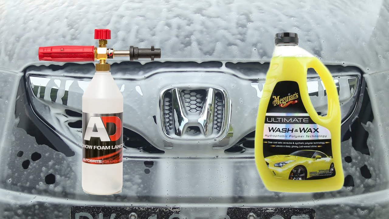Best Car Shampoo For Foam Cannon