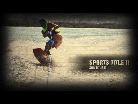Sports Slideshow - After Effects Template