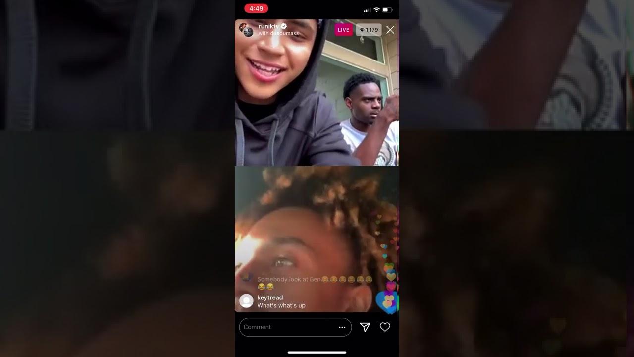 Runiktv Goes Live w Deedumass & Benzo talks FunnyMike & Jaliyahma SAYS HE'S DEPRESSED!!!!!