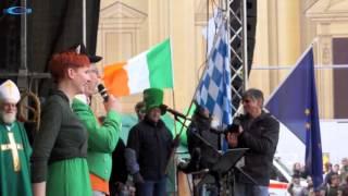 St. Patricks Day Parade Munich 2015 - Odeonsplatz Teil 1