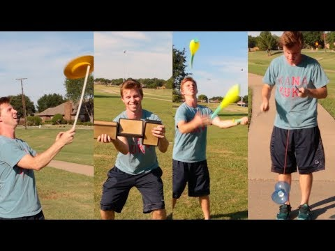 Jake Learns ALL THE SKILLS! [TUTORIAL CHALLENGE]