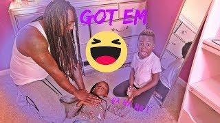 Passing Out On Dad Prank thumbnail