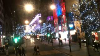 Oxford Street lights at Christmas 2013, London