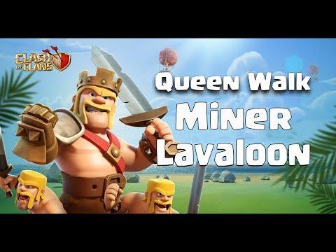 SpQ+ Miners, Miners x42, Laloon + Ske | 3 Stars TH12 | #ClanVNN
