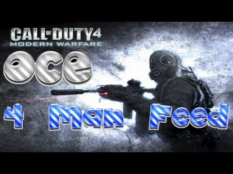 MrYuviGaming - COD 4 - 4 Man No Scope Feed Sync Edit