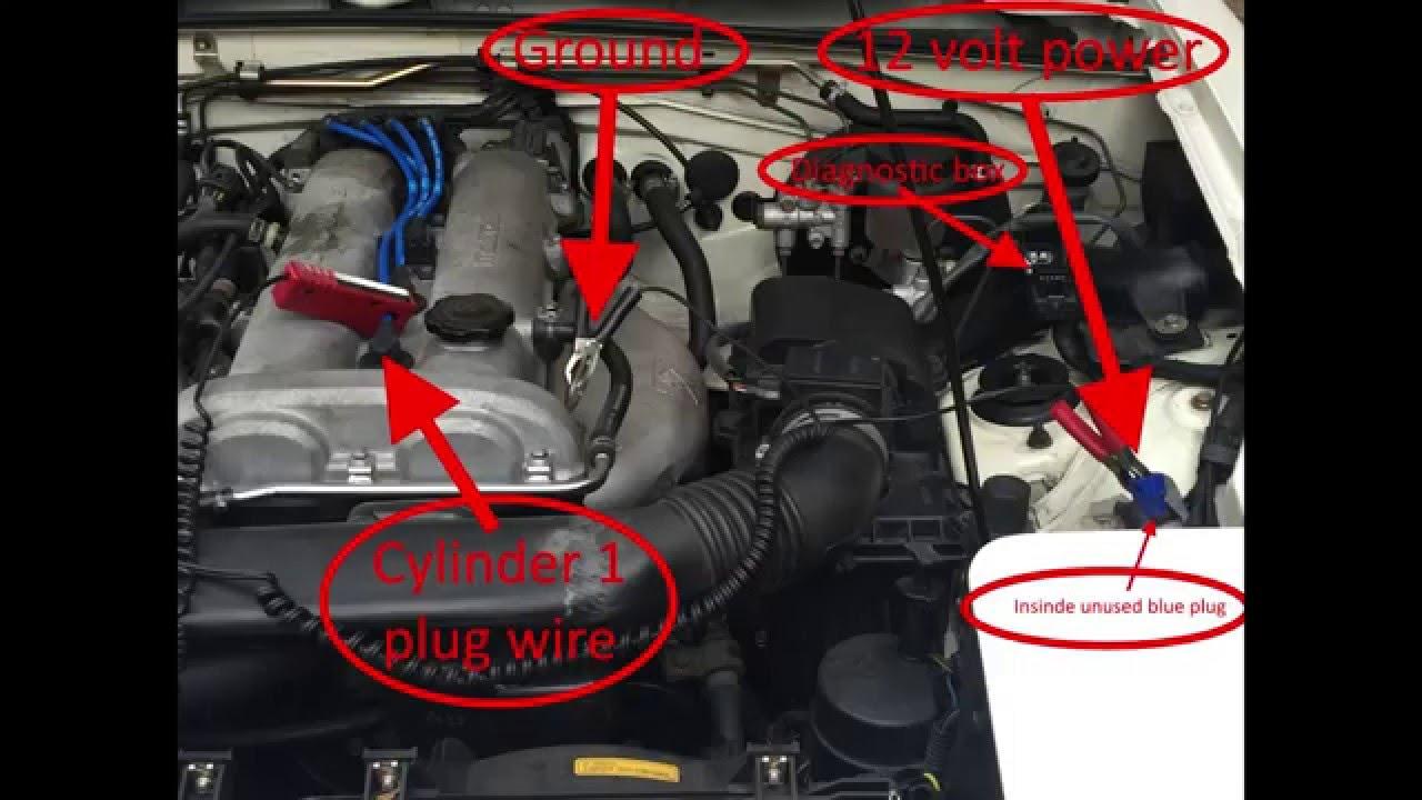 1995 Mazda Miata - Adjusting timing -Adjusting idle - YouTube