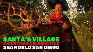 Santa's Village walkthrough tour during Christmas Celebration at SeaWorld San Diego 2016 thumbnail