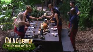 Croc Creek Tuck Into A Banquet Fit For A Lady | I'm A Celebrity... Get Me Out Of Here!
