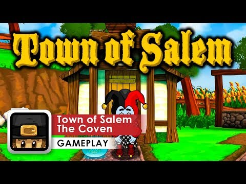 Town Of Salem - The Coven Gameplay HD (iOS & Android) Game Like Mafia!