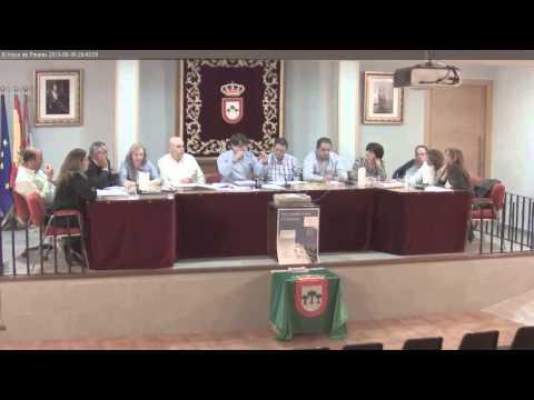 El Hoyo de Pinares, Pleno Ayuntamiento 30-Mayo-2013