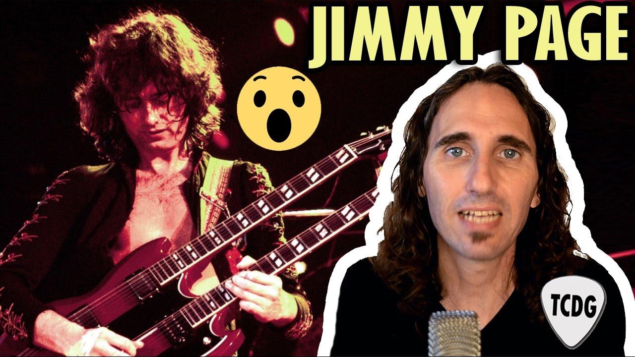 El Curioso Caso De Jimmy Page El Guitarrista Mas Polémico De La Historia