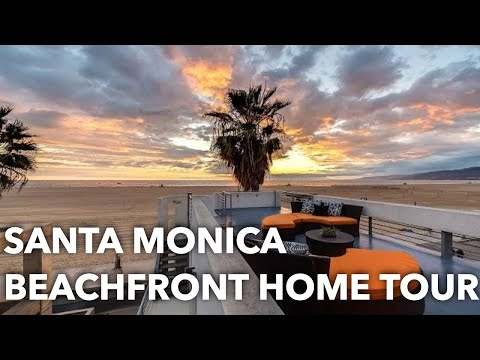 Modern Architectural Beachfront Home | 1255 Palisades Beach Rd, Santa Monica, CA 90401