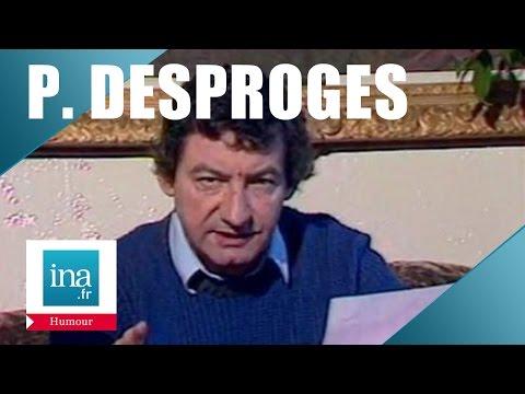 Pierre Desproges écrit à Dieu   Archive INA