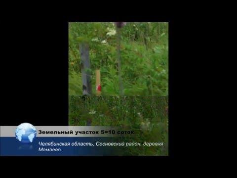 Земельный участок под ИЖС, деревня Мамаево, Сосновский район Челябинской области