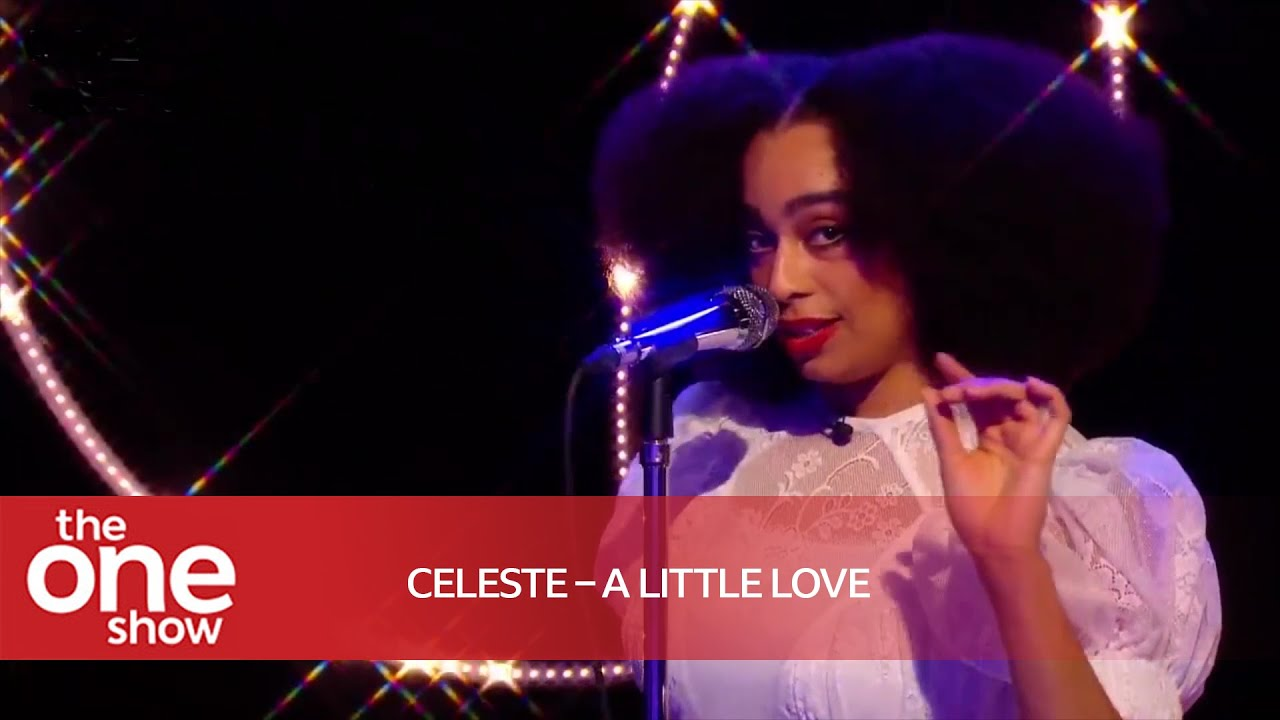 Celeste - A Little Love  (Live on The One Show)