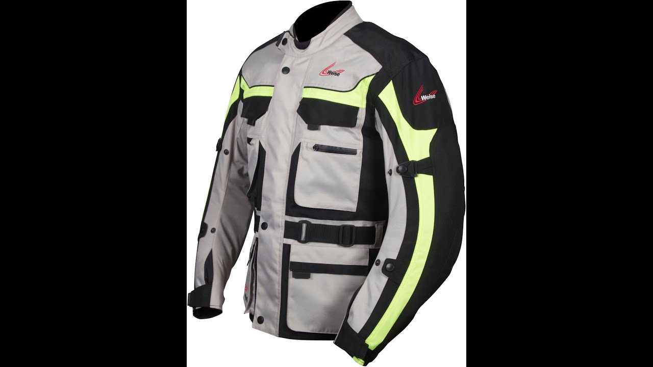 Outlast Seattle All Season Motorcycle Textile Jacket From Weise