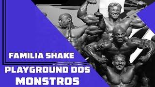 Familia Shake -  Playground Dos Monstros