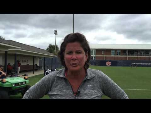 University of Florida head soccer coach Becky Burleigh 9-27-15