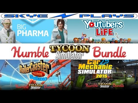 Humble Tycoon Simulator Games Bundle [Big Pharma - Rollercoaster Tycoon - Youtubers Life]
