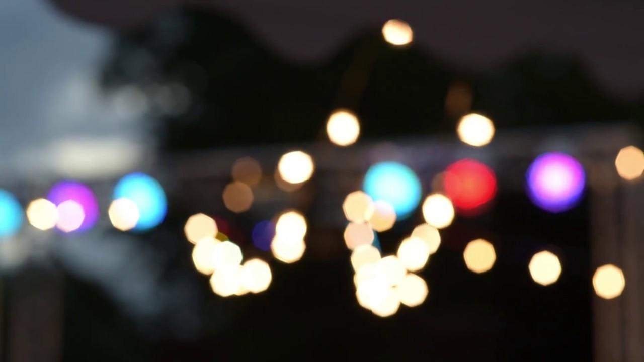 Zaawansowane Girlandy- oświetlenie na przyjęcie. - YouTube EX33