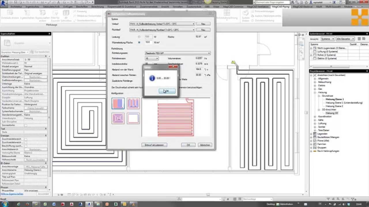Autodesk Revit Mep Variantenkonstruktion Einer
