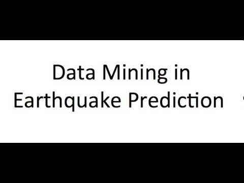 Application of Data mining in earthquakes prediction