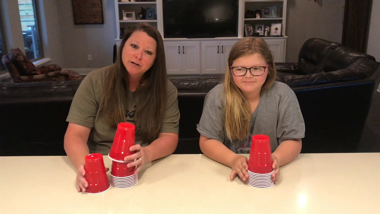 Stacking Cups - YouTube