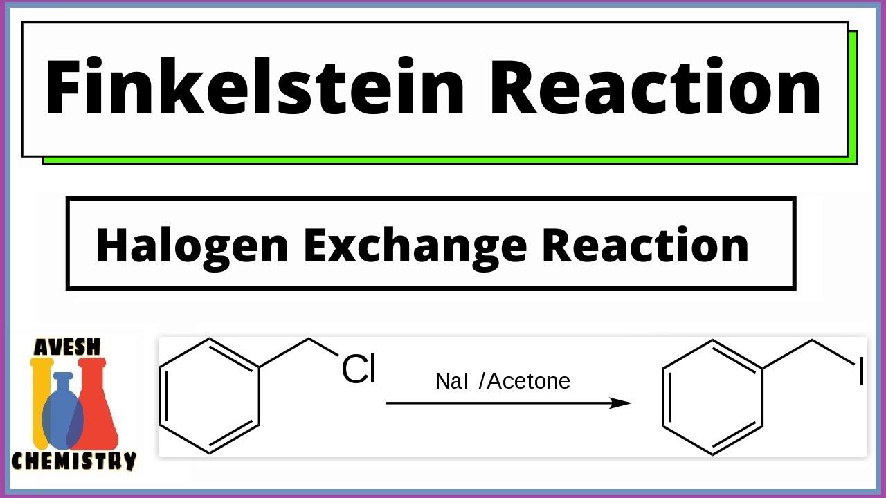 Finkelstein Reaction