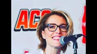 Gillian Anderson - Press conference - Argentina Comic Con