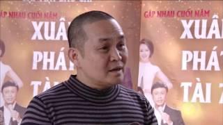Phỏng vấn các nghệ sỹ trong buổi họp báo Xuân phát tài 7