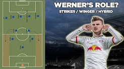 How Timo Werner will fit at Chelsea? Tactical Analysis of Werner's Role | Striker/Winger/Hybrid