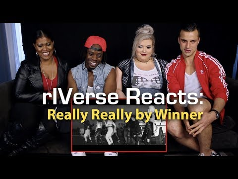 rIVerse Reacts: Really Really by Winner - MV Reaction