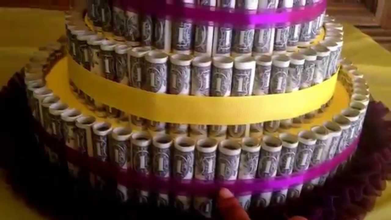 Money Cake Youtube