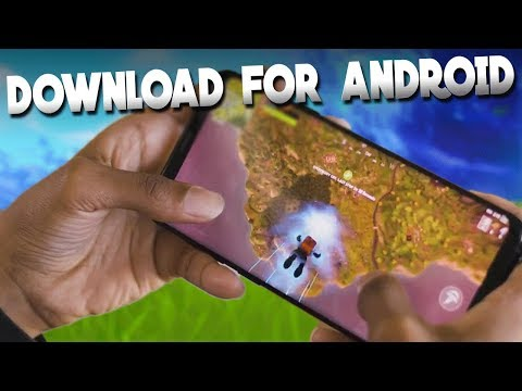 Fortnite Android Beta OUT NOW! (How to Download & Play)
