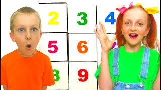 Tawaki kids learn to count to 10