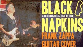 BLACK NAPKINS - Frank Zappa Guitar Cover - LIVE !